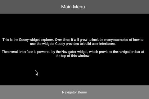 Navigator Demo